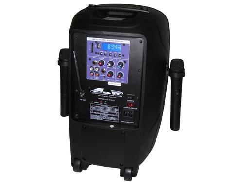 Bafle Profesional Bateria 10 200w Mp3 Blut 2 Inalambricos En