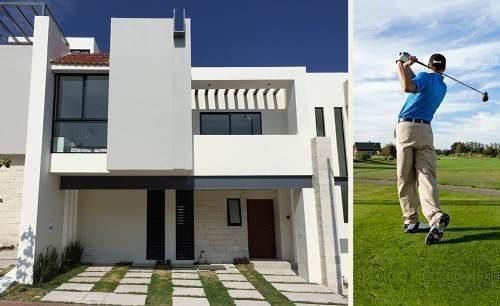 Estrena Hermosa Residencia En Zibata, 3 Habitaciones, 3.5 Baños, Alberca, Jardín