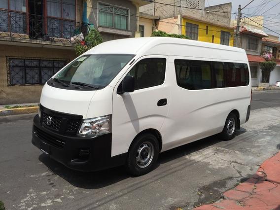 Nissan Urvan Nv350 2016 Amplia Con Ventanas Factura Original