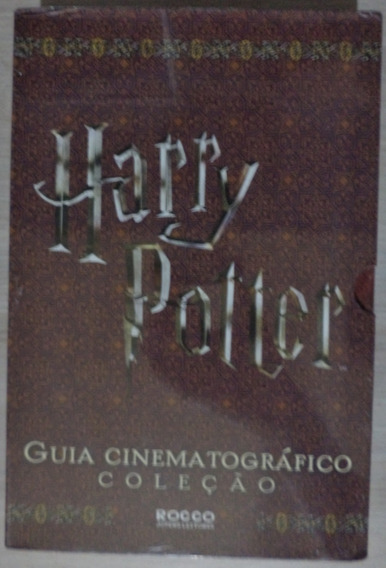 Box Guia Cinematográfico Harry Potter (lacrado)