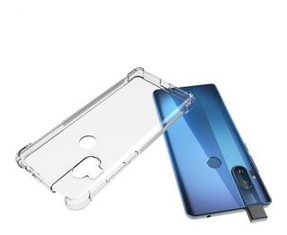 Capa Case Anti Queda Motorola One Hyper + Pelicula 3d Vidro