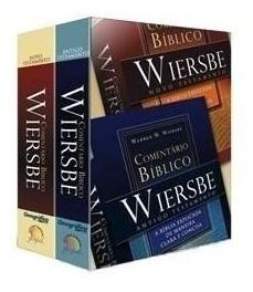 Comentário Bíblico Wiersbe 2 Volumes Antigo E Novo Testament