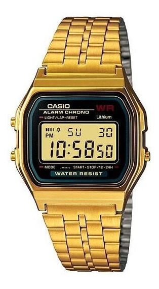 Relógio Unissex Casio Vintage Dourado A159wgea-1df