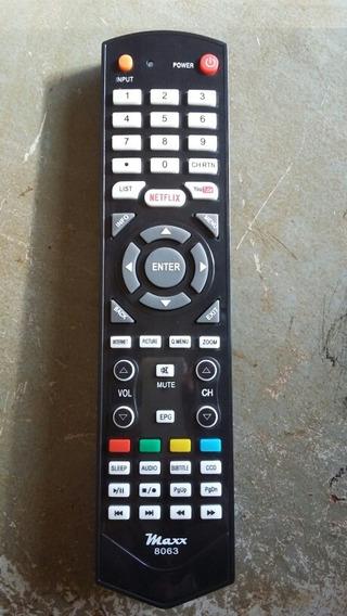 Controle Remoto Tv Led Semp 40l2500/43l2500 Youtube/netflix