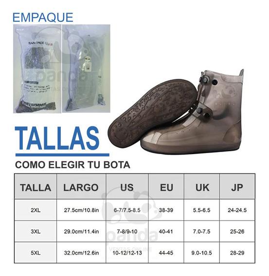 Zapatos Protectores En Goma, Rainproff Shoes
