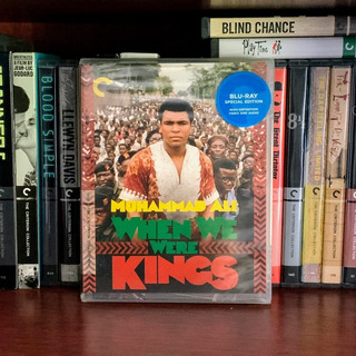 Criterion - When We Were Kings (bluray) - Leon Gast