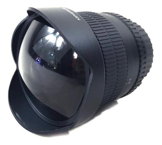 Rokinon 8mm F/3.5 Olho De Peixe Para Nikon Lojista