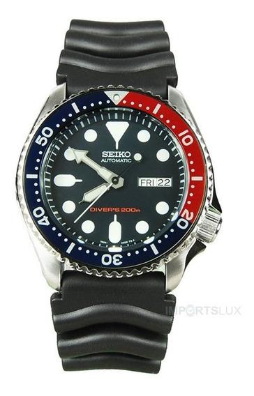 Relógio Seiko Divers Automatico Deep Blue Skx009k1 Nfe