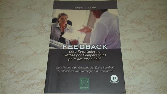 Livro Feedback Rogério Leme
