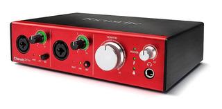 Interfaz De Audio Focusrite Clarett 2 Pre Thunderbolt 10x4