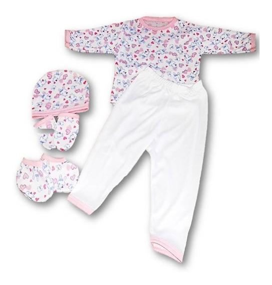 Mono Pijama Para Bebes Recien Nacidos Algodon Importado