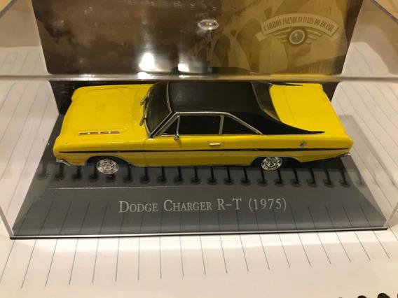 Dodge Charger Rt 1/43 Da Coleção Carros Inesquecíveis Do B