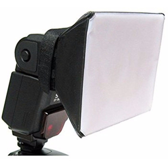 Difusor Flash Mini Softbox Universal Para Flash Speedlight