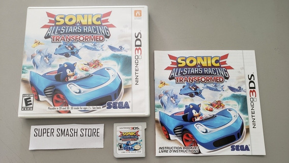 Sonic All Star Racing Transformed - Nintendo 3ds