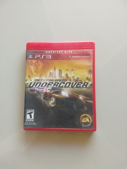 Need For Speed Undercover Ps3 Mídia Física