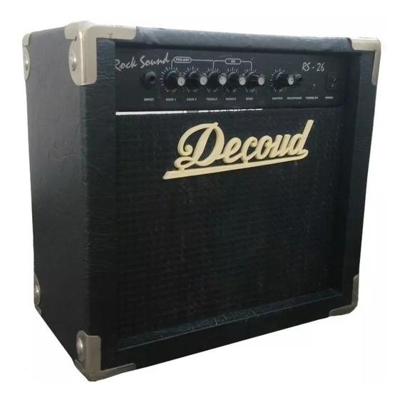 Amplificador De Guitarra Electrica Decoud Rs-26 20 W Nuevos