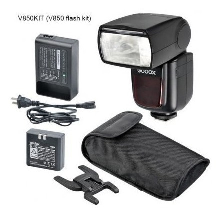 Flash Speedlite Manual Kit V850 Para Canon , Nikon, Pentax