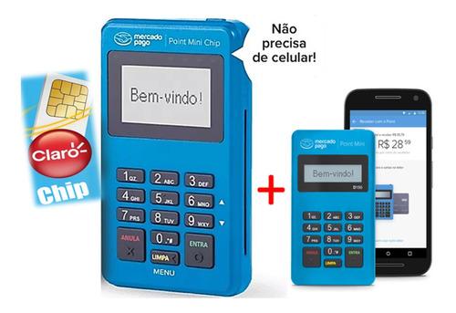 Máquina Point Mini Chip E Wi-fi + Mini D150 E Frete Grátis !