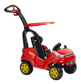 Montable Push Car Adventure Rojo