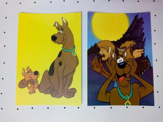 Tarjeta Postal Scooby Doo Made In Usa