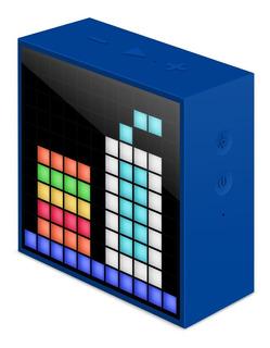 Parlante Bluetooth Divoom Timebox Azul