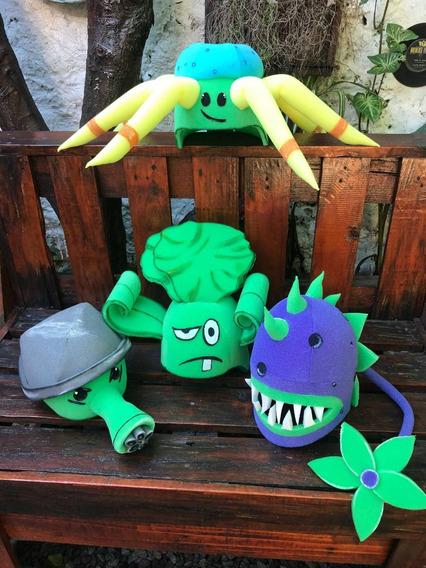 Día Del Niño Plantas Vs Zombies Disfraz Videojuegos Cotillón