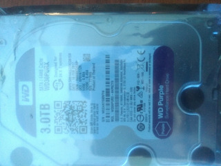 Disco Rígido 3 Tb Purple Western Digital Seguridad Mexx 4