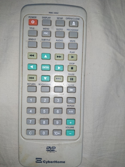 Controle Do Dvd Player Cyberhome Rmc-300z