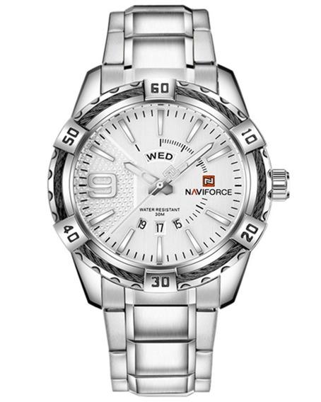 Relógio Masculino Quartz Naviforce Nf9117 Casual Importado