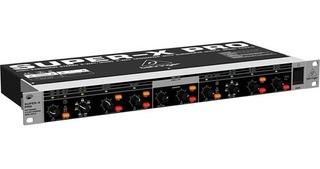Behringer Cx2310 Crossover Super X 2 Vías Stereo 3 Vías Mono