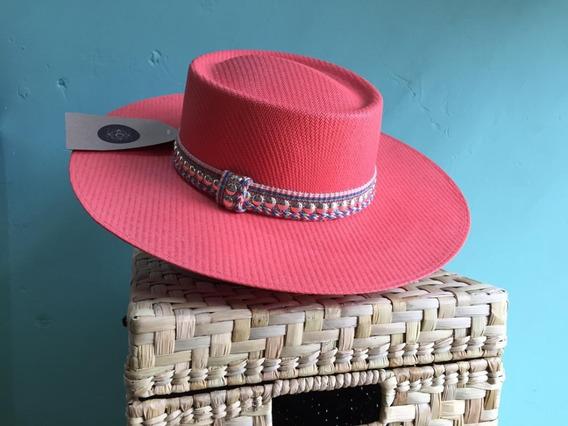 Sombrero P/dama, Papel Arroz Con Elástico Interno