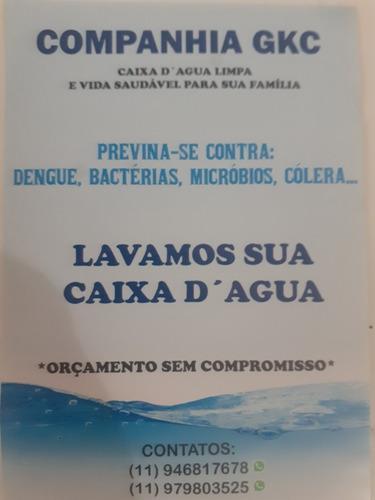 Imagem 1 de 1 de Limpeza De Caixa De Água Promoção