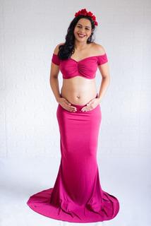 Vestido Gestante, Ensaio, Fotografia, 2 Em 1, Promoção