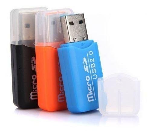 Adaptador Micro Sd A Usb 2.0 (4 Uni)