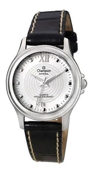 Relógio Champion Feminino Pulseira De Couro Ca28814q