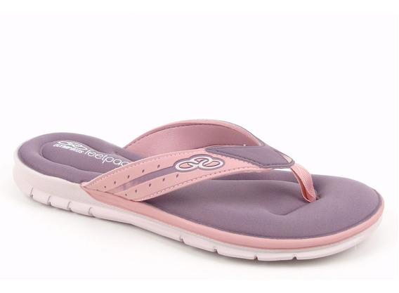 Chinelo Feminino Olympikus Venice Feetpad Vanguarda Macio