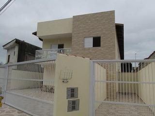 Sobrado Para Venda Em Mongaguá, Pedreira, 2 Dormitórios, 2 Suítes, 3 Banheiros, 1 Vaga - 129