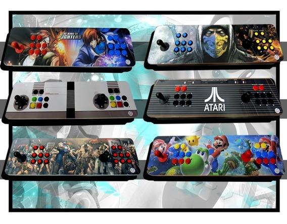 Controle Arcade Para Raspberry, Pc, Ps3, Ps4 Zero Delay Usb