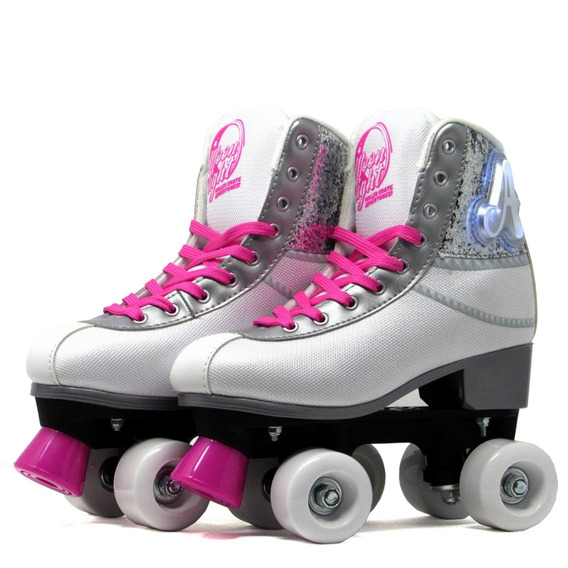 Patines Moonlight Ambar Soy Luna Luz Led+spinner Env. Gratis