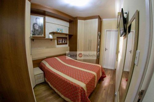 Apartamento Com 3 Dormitórios À Venda, 75 M² Por R$ 430.000,00 - Jardim Satélite - São José Dos Campos/sp - Ap4670