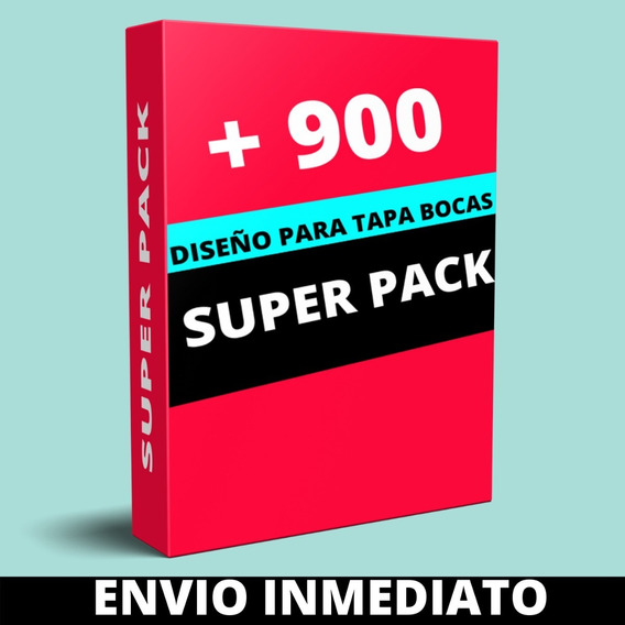 Plantillas Sublimacion Tapabocas Barbijos + 900 Diseños