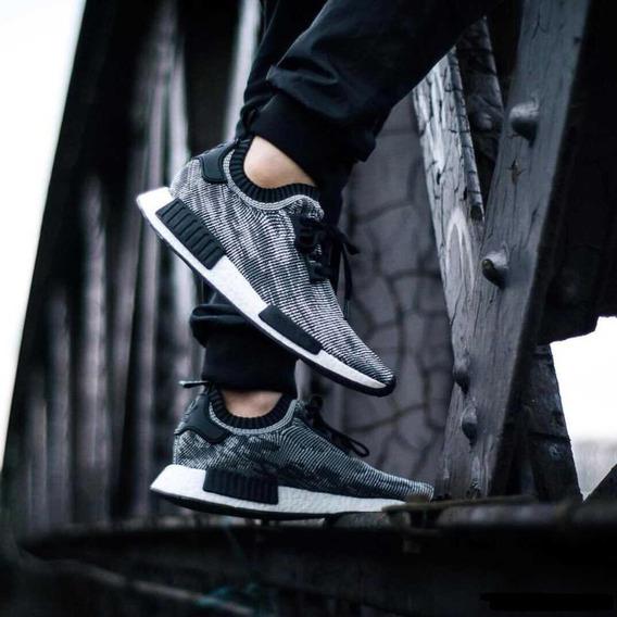 Zapatillas adidas Nmd Primeknit Glitch Camo Talla 10usa 42cl