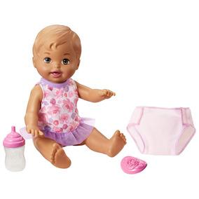 Boneca Little Mommy - Bebê Faz Xixi - Morena - Mattel