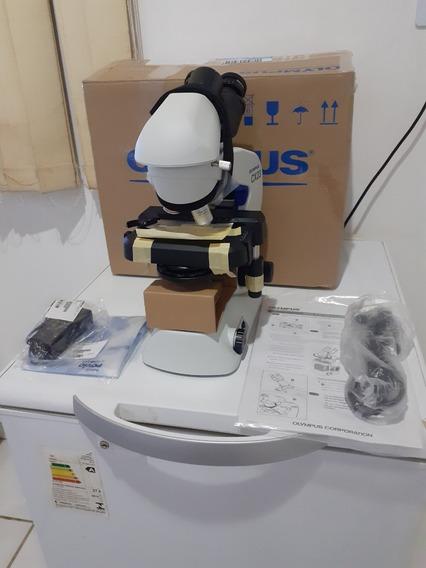 Microscópio Olympus, Modelo Cx23, Bincular.
