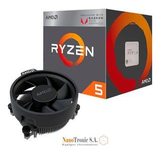 Amd Ryzen 5 2400g Gaming Vega 11 3.6ghz 3.9ghz Core I5 Gamer