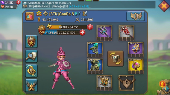 Jogo Lords Mobile