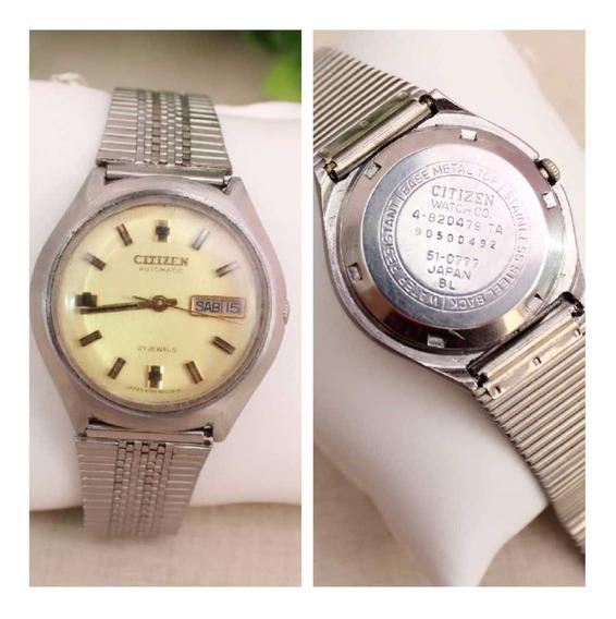 Relógio Citizen Automatic 51-0777 Japan