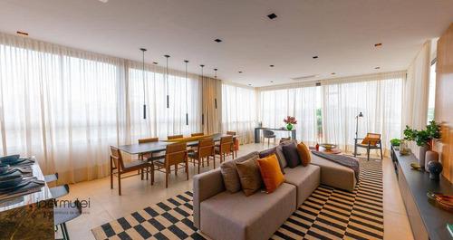 Imagem 1 de 30 de Apartamento Com 3 Suítes À Venda, 157 M² Por R$ 2.044.051 - Campo Belo - São Paulo/sp - Ap2037