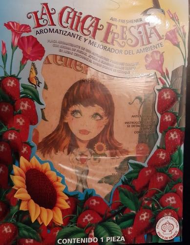 Ambientador Chica Fresita 100% Original (mexico)