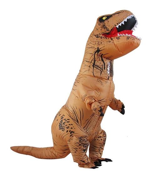 Disfraz Inflable Dinosaurio Rex Egresados Fiesta Upd
